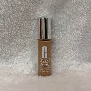 Clinique foundation+concealer